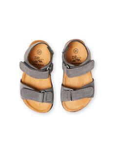 Baby Junge Grau Sandalen LBGNUGRIS / 21KK3855D0E940