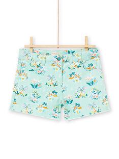 Baby Boy's Koala, Blume und Palme Druck Shorts LAVERSHORT3 / 21S901Q3SHOG621