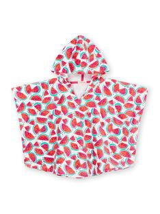 Baby Mädchen Wassermelone Bad Umhang LYICAP / 21SI09D1CDB000