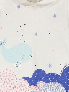 Kurzärmeliges T-Shirt für Mädchen FINEBRA / 19SG09B1BRA000