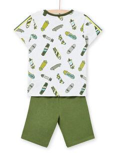Grauer Schlafanzug für Jungen LEGOPYCSPOR / 21SH12CAPYJJ920