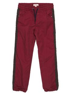 Gefütterte rote Hose GOBRUPAN1 / 19W902K2PAN511
