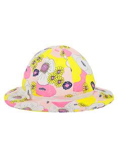 Bedruckter Hut für Mädchen FYAPOHAT1 / 19SI01C1CHA099