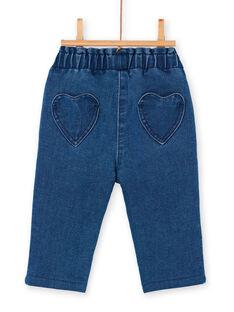 Baby Mädchen blaue Jeans LIHAPAN / 21SG09X1PANP270
