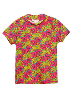 Rotes Anti-UV-T-Shirt JYAMERUV / 20SI01K1TUVF510