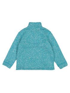 Pullover aus Funktionsmatrial innen gefüttert dunkeltürkis GOJOPULTEK2 / 19W902L1D2EC217