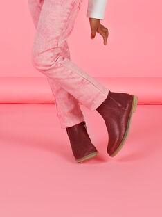 Booties für Kind Mädchen weinrot MABOOTVIN / 21XK3573D0D719