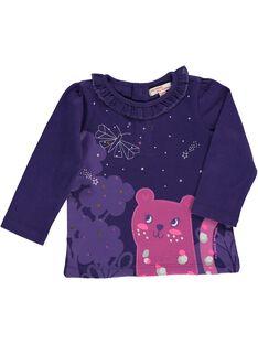 Baby girls' long-sleeved T-shirt DIVIOTEE / 18WG09H1TML711