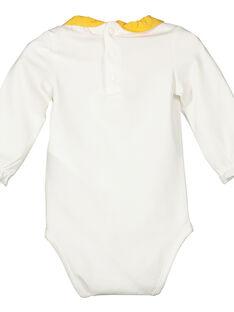 Langärmeliger Baby-Bodysuit für Mädchen FILIBOD / 19SG0921BOD001