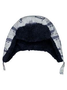 Gemusterte Mütze GYOBLACHA / 19WI02S1BON940