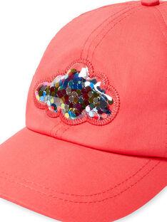Rote Mütze Kind Mädchen LYAHACAP / 21SI01X1CHAF506