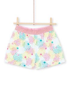 Pyjamas himmelblau Kind Mädchen LEFAPYJERO / 21SH11C4PYJ219