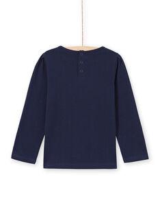 Langarm-T-Shirt für Mädchen mit Spitze MAJOSTEE1 / 21W90115TMLC205