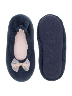 Girls' ballet pump slippers DFBALNOEUD / 18WK35W3D07070