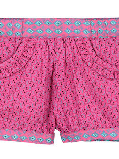 Baby-Shorts aus Popeline für Mädchen FITUSHO / 19SG09F1SHO712