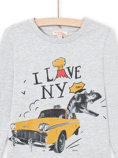 Graues T-shirt für Jungen MOJOTEE2 / 21W90227TMLJ922