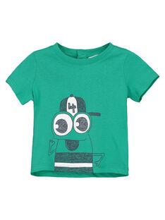Kurzärmeliges T-Shirt für Babys Jungen FUJOTI6 / 19SG10G1TMCG619