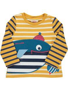 Baby boys' long-sleeved T-shirt DUNAUTEE1 / 18WG10G1TML099