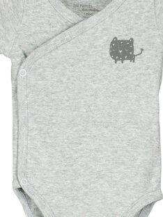 Unisex-Body mit kurzen Ärmeln für Babys FOU2BOD4 / 19SF77J4BOD943