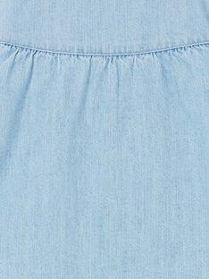Blaue Jeansjacke Baby Mädchen LICANVEST / 21SG09R1VESP272