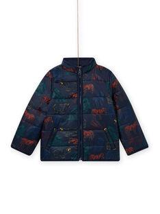 Marineblauer 3-in-1-Parka mit Kapuze für Kind Junge MOGROPAR3 / 21W90261PAR705