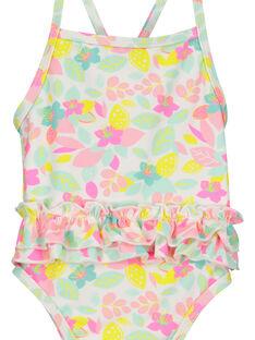 Einteiliger Badeanzug für Babys Mädchen FYIMEREX / 19SI09K4MAI000