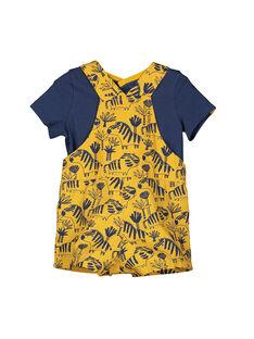 Set aus T-Shirt und Latzhose für Jungen FUBAENS / 19SG1061ENS107