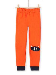Kinder-Schlafanzug mit gestreifter Seite mit Fuchs-Design LEGOPYJRENA / 21SH125EPYJ705