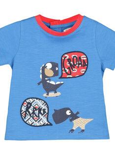 Bedrucktes T-Shirt für Babys Jungen FUTOTI1 / 19SG10L1TMCC215