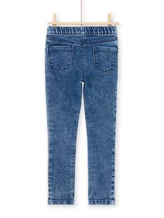 Mädchen-Jeans-Effekt-Jegging MAJOJEG2 / 21W90111PANP269