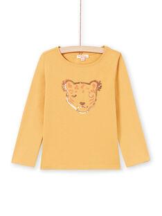 Mädchen-T-Shirt in Orange MAJOYTEE5 / 21W90125TMLB106