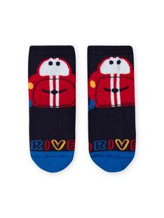 Baby Boy marineblaue Socken mit Auto-Motiv LYUHACHOB2 / 21SI10X2SOQ713