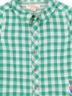 Kariertes Babyhemd für Jungen FUCACHEM / 19SG10D1CHM099
