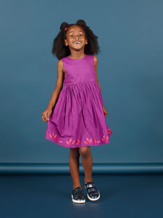 Wendbares ärmelloses Kleid für Mädchen MAPAROB1 / 21W901H1ROBC205