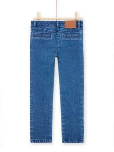 Blaue Jeans für Mädchen mit Herzen MAMIXJEAN / 21W901J1JEAP269