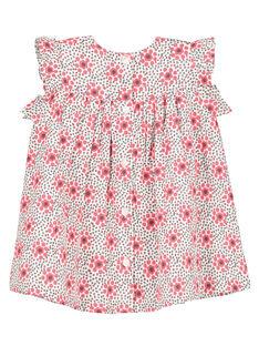 Gesmoktes Babykleid für Mädchen FICAROB5 / 19SG09D5ROB000