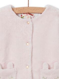 Baby Girl's Reversible Hellrosa Strickjacke MIJOCAR2 / 21WG0912CAR632