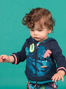 Baby Junge navy blau Weste LUBONGIL / 21SG10W1GIL717