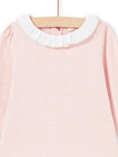 Baby Mädchen Rosa & Weiß T-Shirt MIJOBRA2 / 21WG0914BRAD314