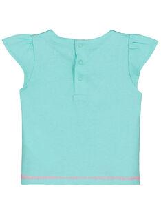 Bedrucktes Baby-T-Shirt für Mädchen FICUTI2 / 19SG09N2TMC219