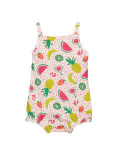 Kurzer Baby-Jumpsuit für Mädchen FIPLACOM1 / 19SG09P1CBL000