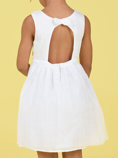 White DRESS LAJAUROB2 / 21S901O1ROB000