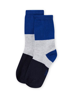 Blaue Söckchen für Jungen MYOJOCHOC1 / 21WI0217SOQ701