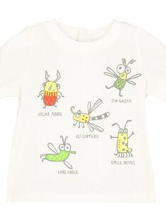 Bedrucktes T-Shirt für Babys Jungen FUYETI2 / 19SG10M2TMC001