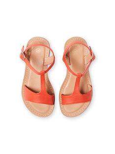 Orange Sandalen Kind Mädchen LFSANDMADDIE / 21KK3551D0E400