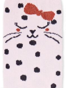 Socken Kind Mädchen LYAROUCHO / 21SI01K1SOQ309