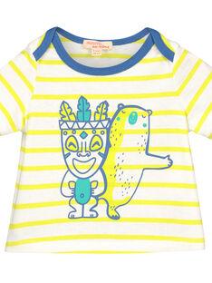 Kurzärmeliges T-Shirt für Babys Jungen FUCUTI3 / 19SG10N3TMC099