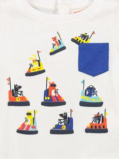 Langärmeliges Baby-T-Shirt für Jungen FUCOTEE2 / 19SG1082TML000