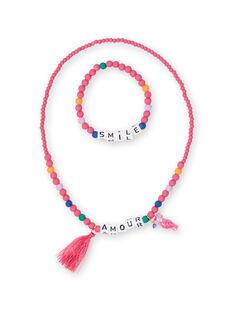 Satz von 2 Halsketten Kind Mädchen LYANAUSET / 21SI0171CLIF507