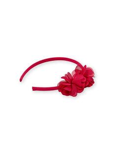 Stirnband fuchsia Kind Mädchen LYAVISERRE / 21SI01E1TET304